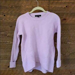 Banana Republic lavender crew neck sweater